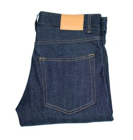 Real + Simple Slim Raw Selvedge Jeans
