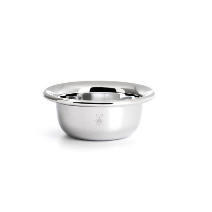 Mühle Shaving Soap Bowl - Chrome Plated