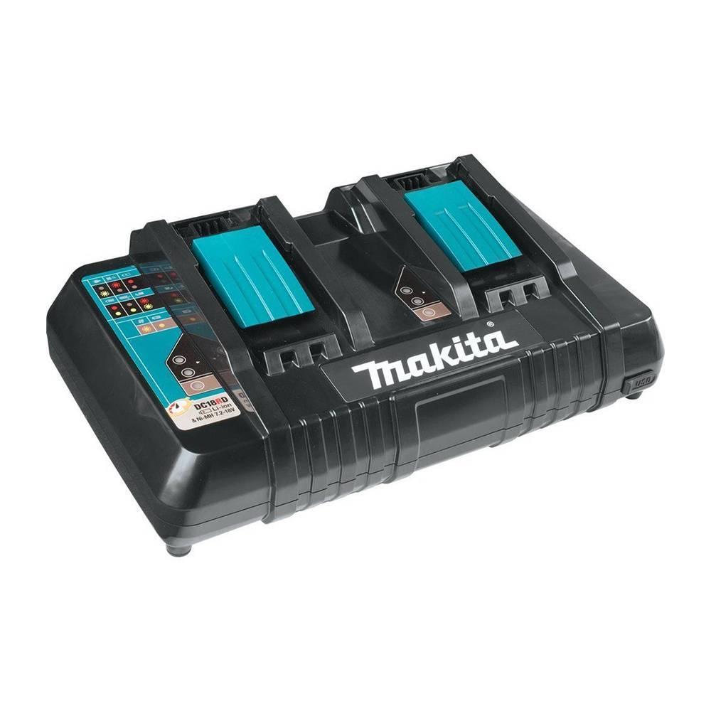 Makita 18V LXT'' Lithium-Ion Dual Port Rapid Optimum Charger
