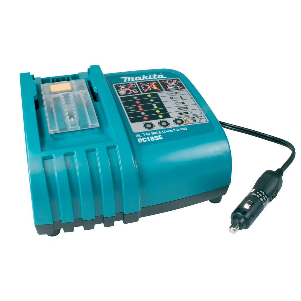 Makita 18V LXT'' Lithium-Ion Optimum Automotive Charger