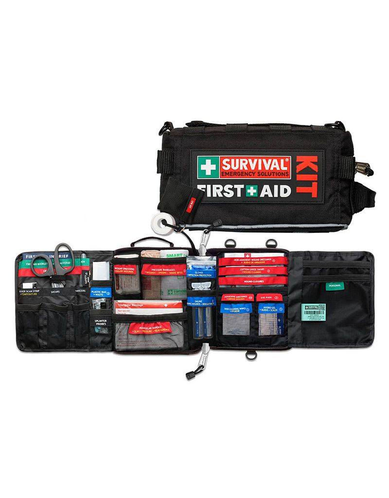 Survival Emergency Solutions Vehicle First Aid Kit