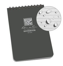 Rite in the Rain Top Spiral Notebook Gray