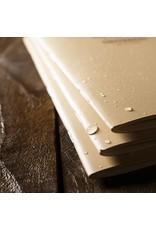 Rite in the Rain Weatherproof Mini Stapled Notebook Tan 3 Pack (No. 971TFX-M)