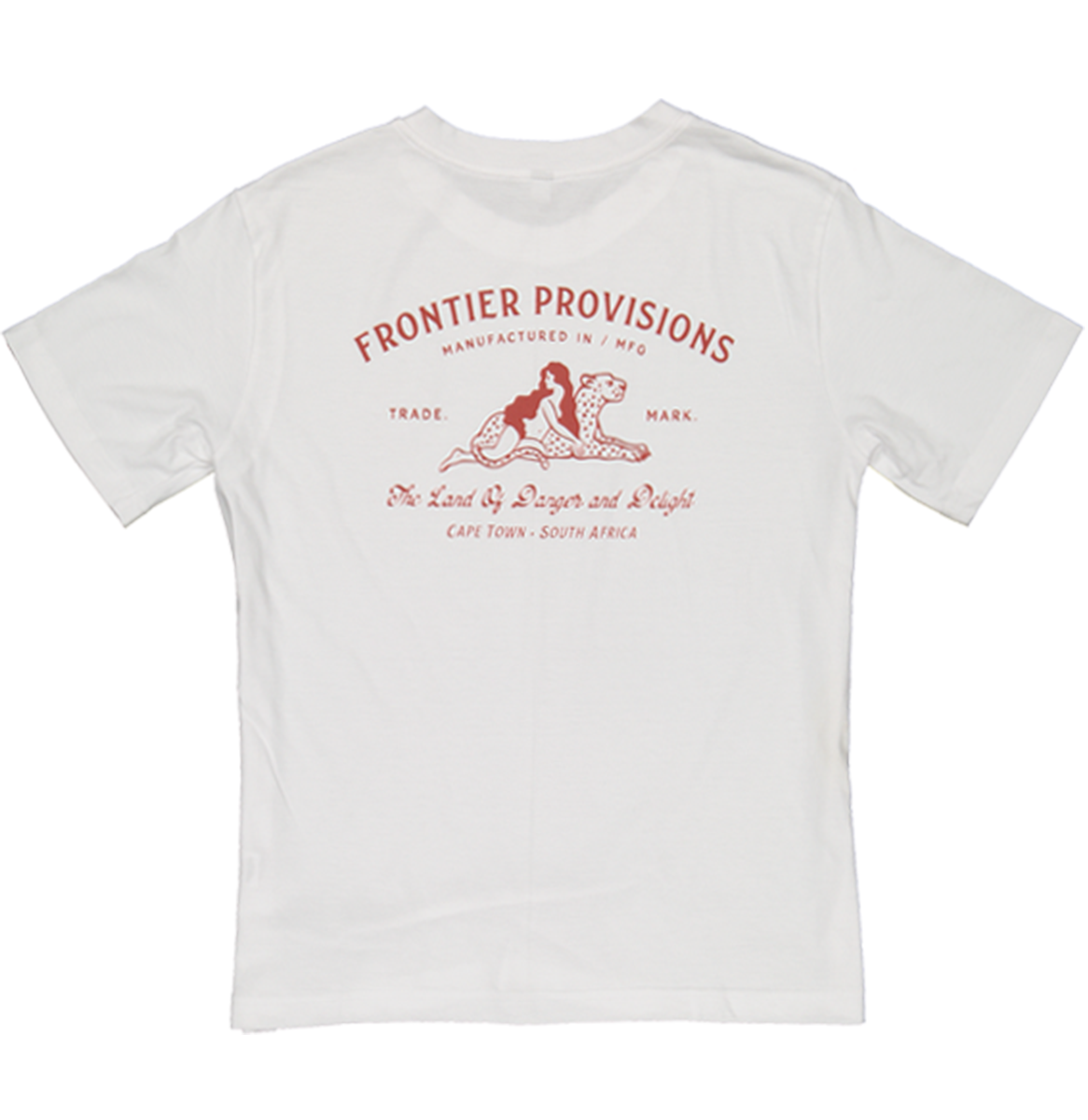 Frontier Provisions Leopard Lady Ladies Tee