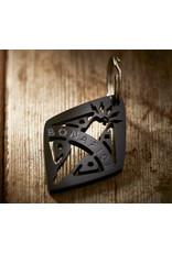 Bonafide Beards Spark Plug Key Ring