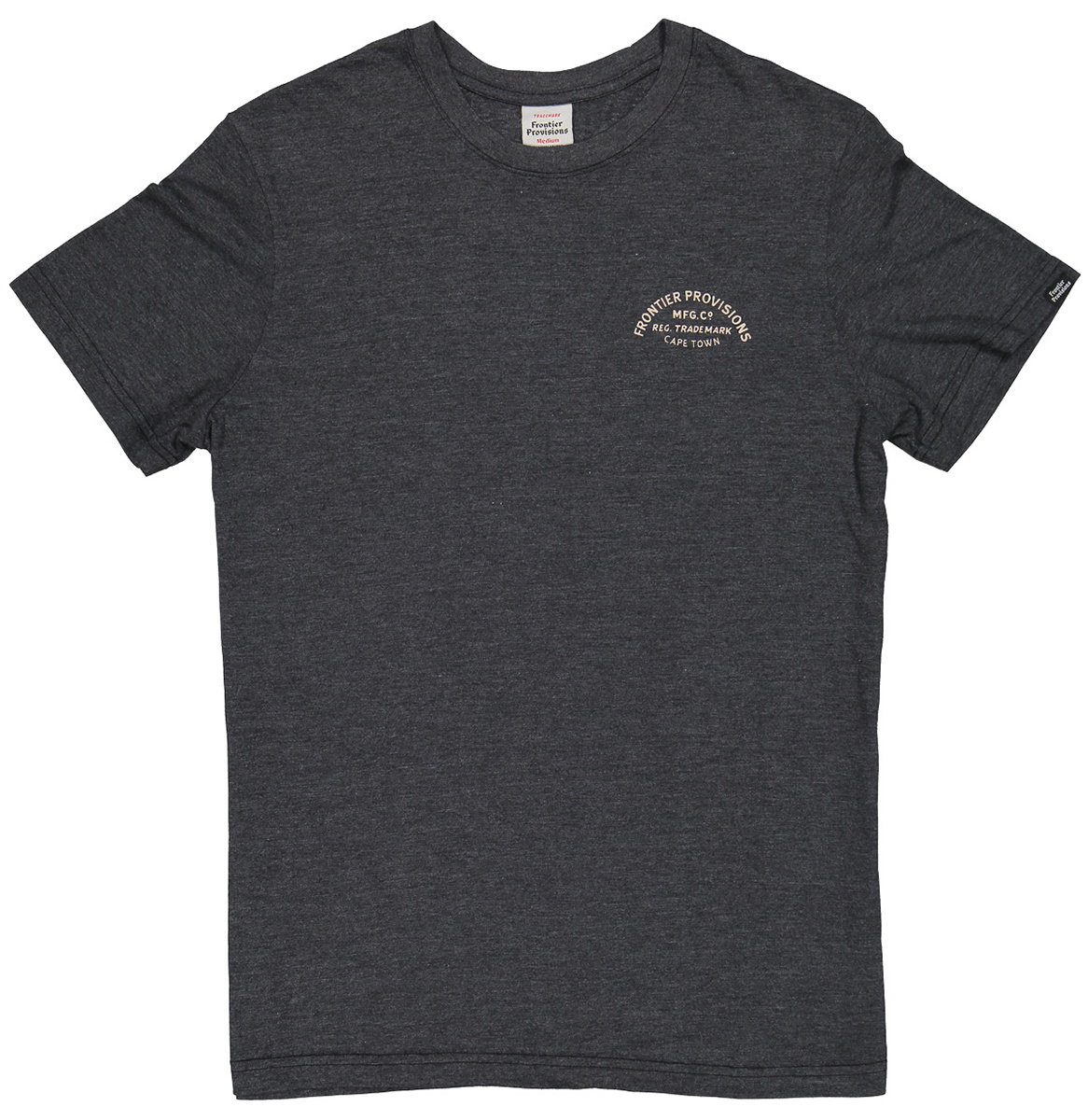Frontier Provisions Tiger Tee Charcoal