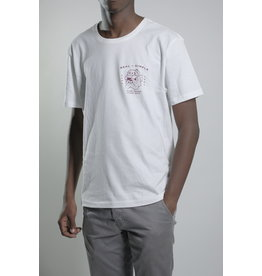 Real + Simple Bull Dog Tee White