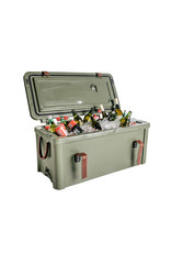 Rogue Ice Coolers 75L Ice Cooler with Canvas seat cover & Leather fittings