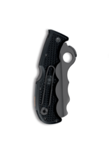 "Spyderco Rescue Assist I Black FRN Folding Knife (3.69"" Black Serr)"