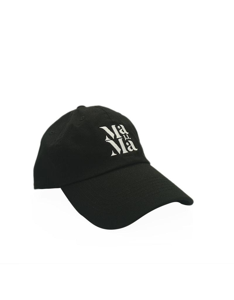 New Era Cap Co. Just Like Mama Custom Dad Hat White Logo