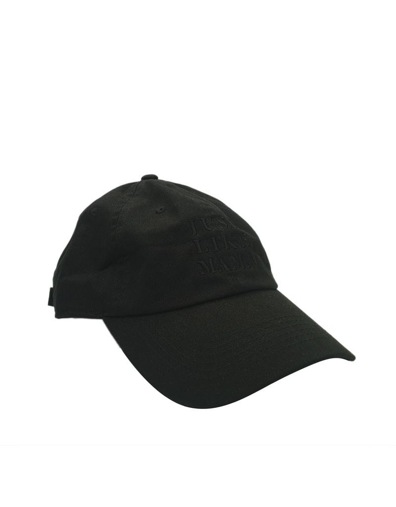 New Era Cap Co. Just Like Mama Custom Dad Hat Black Text
