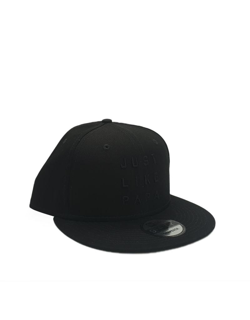 New Era Cap Co. Just Like Papa 9FIFTY Snapback Black Text