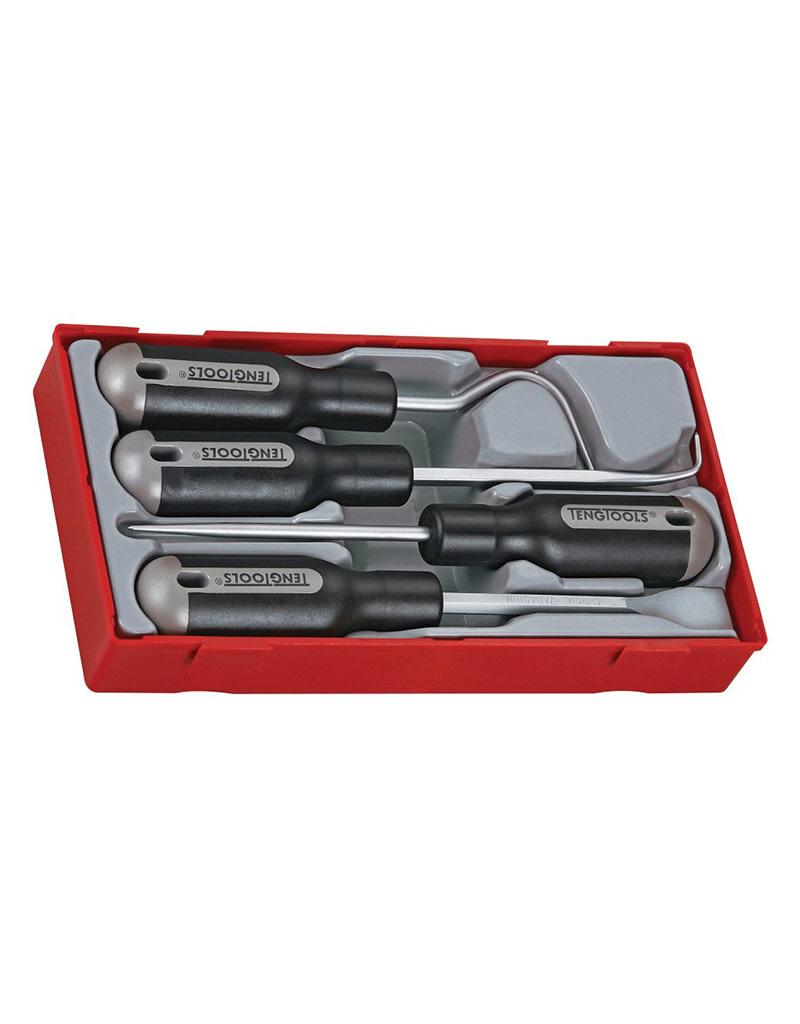 Teng Tools Scraper Set 4 Pieces TT Tray