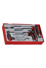 Teng Tools Hex Key set T Handle Ball Point 7 Pieces TT Tray