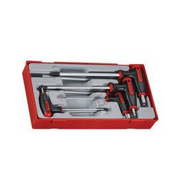 Teng Tools Hex Key set T Handle Ball Point 7 Pieces TT Tray