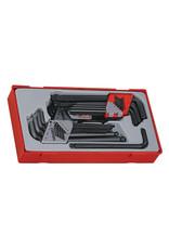 Teng Tools Hex Key Set 28 Pieces TT Tray