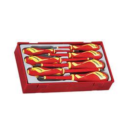 Teng Tools Screwdriver Set 1000 Volt 7 Pieces TT Tray