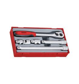 Teng Tools Socket Set 1/2'' Drive 5 Pieces TT Tray