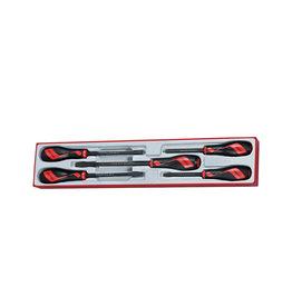 Teng Tools Screwdriver Set Power Thru 5 Pieces TTX Tray