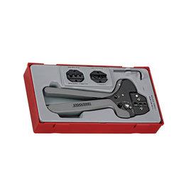 Teng Tools Crimping Plier Set 4 Pieces TT Tray