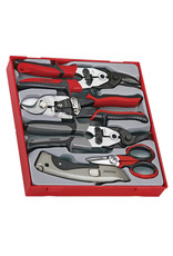 Teng Tools Cutting Tool Set 5 Pieces TTD Tray
