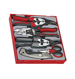 Teng Tools Cutting Tool Set 5 Pieces TTD Tray
