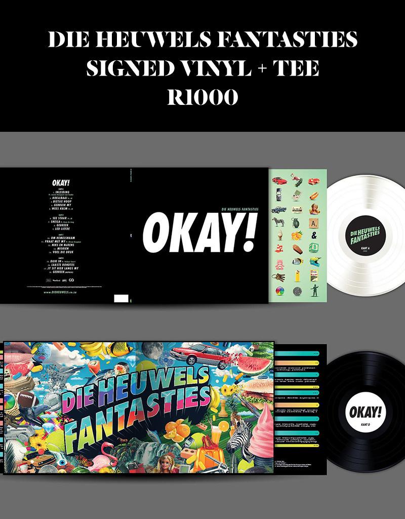 Die Heuwels Fantasties Signed Vinyl + Tee