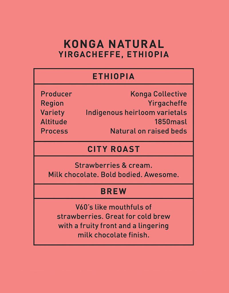 Father Coffee Konga Natural, Yirgacheffe, Ethiopia