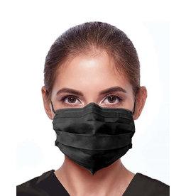 Teqniko Standard re-usable Black Face masks