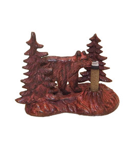 Paine Products Brass Bear Incense Holder