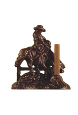 Paine Products Brass Cowboy Incense Holder