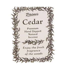 Paine Products Cedar Incense Sticks