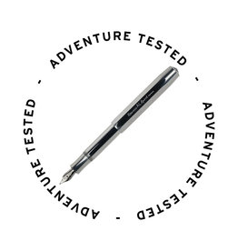 Kaweco AL Sport Fountain Pen Raw Medium - Adventure Tested