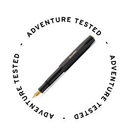 Kaweco Skyline Sport Fountain Pen Black Medium - Adventure Tested
