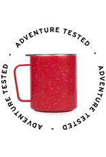 MiiR VI Camp Cup Red Speckle - 354ml (12oz) - Adventure Tested