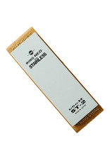 Matsunaga Stone Co. Neo St2 Stainless Steel Stone Grit 800 (with base) (210x73x25mm)