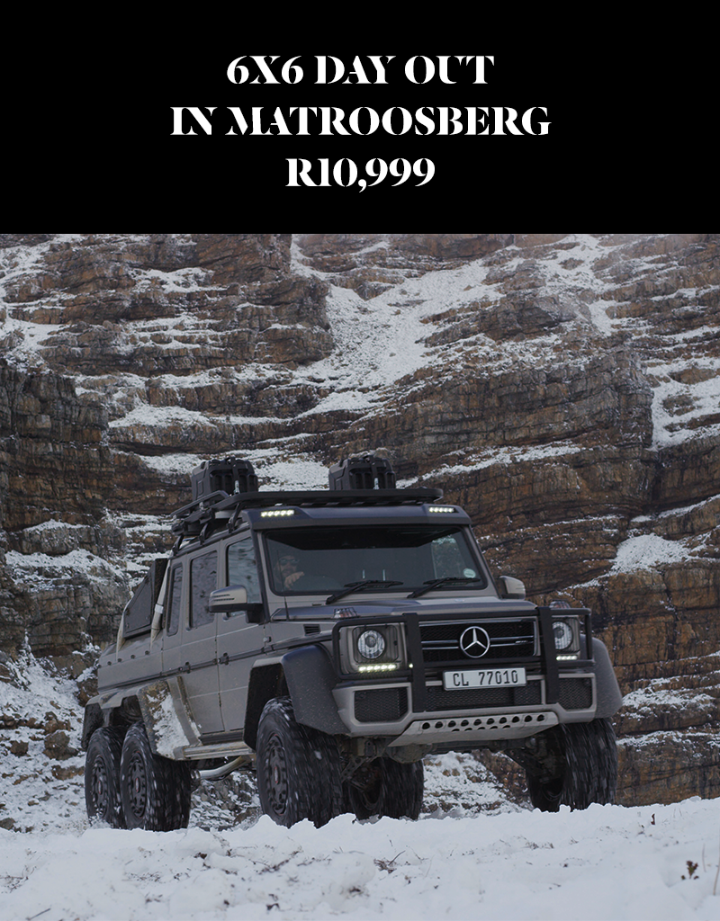 6x6 Day Out In Matroosberg
