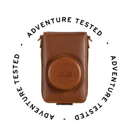 Adventure Tested Leica Leather Case - Adventure Tested