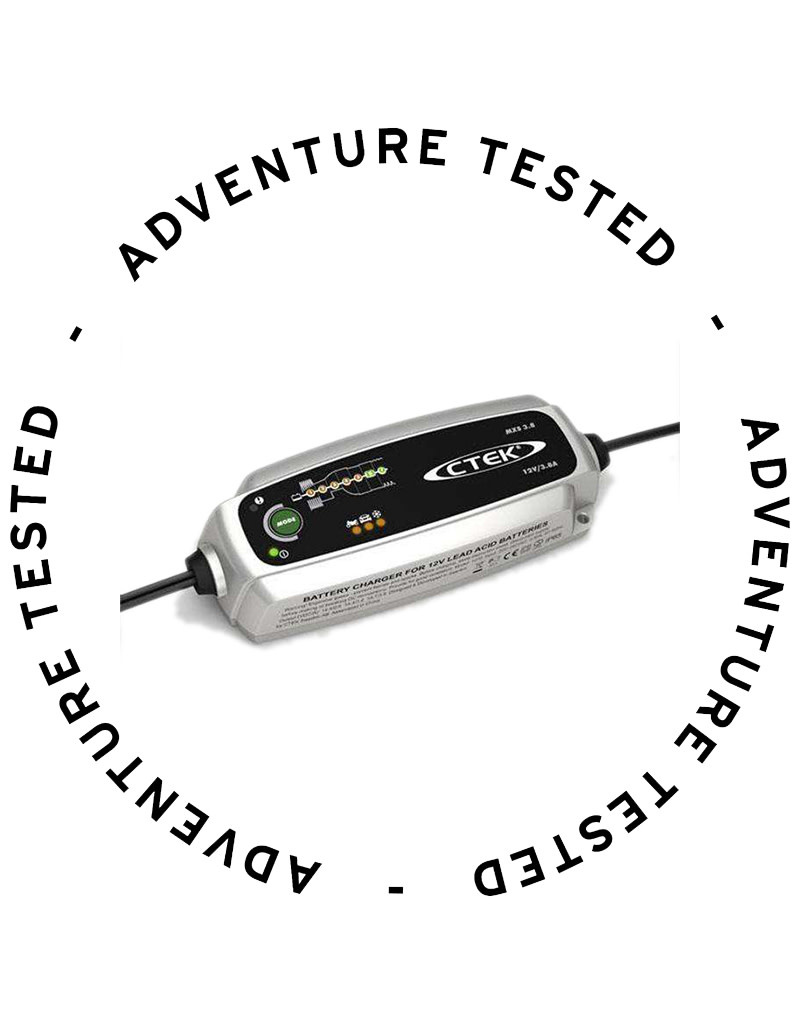 CTEK MXS 3.8 Car Battery Charger - Adventure Tested