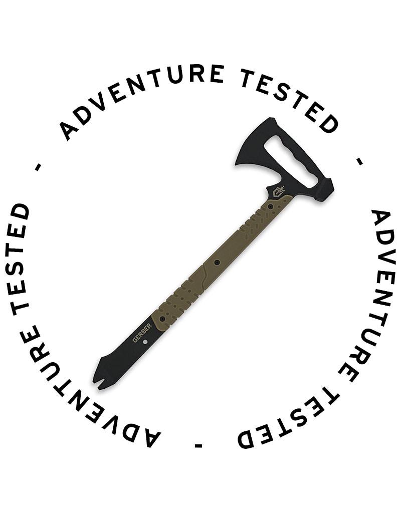 Gerber Tactical Downrange Tomahawk Axe - Adventure Tested