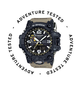 Casio G-Shock Mudmaster Triple Sensor Desert - Adventure Tested