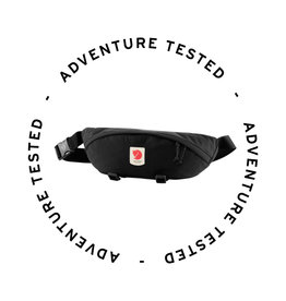 Fjallraven Ulvo Hip Pack Large Black - Adventure Tested