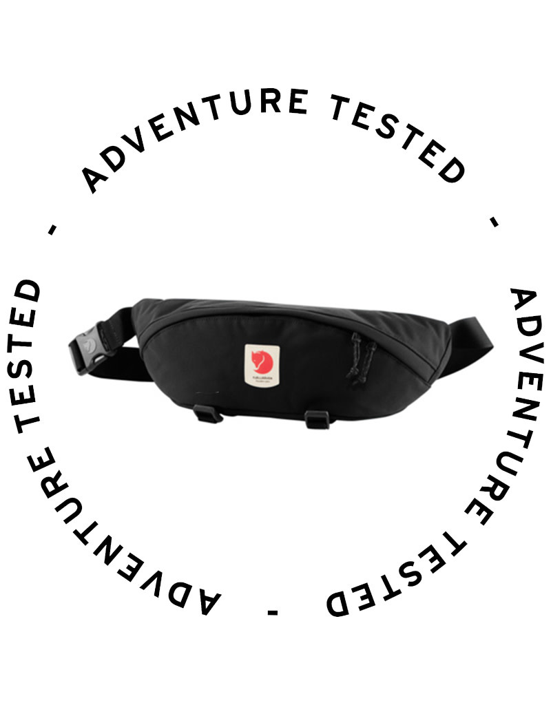 Fjallraven Ulvo Hip Pack Large Black - Adventure Tested