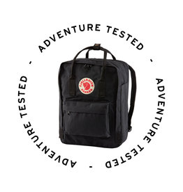 Fjallraven Kanken Laptop 13'' Black - Adventure Tested