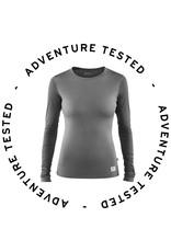 Fjallraven Keb Wool T-shirt LS W Light Grey-Grey M - Adventure Tested