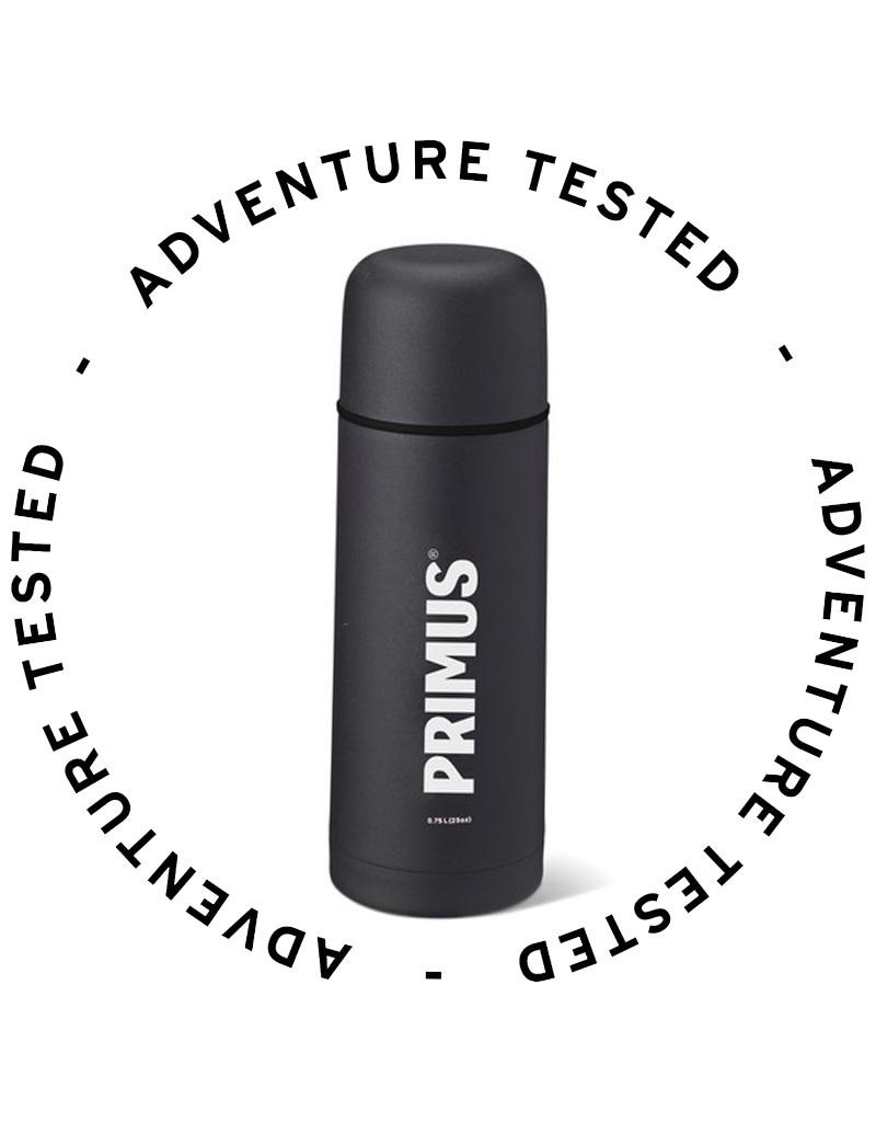 Primus Vacuum Bottle Black 0.75L - Adventure Tested