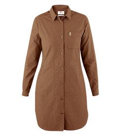 Fjällräven Ovik Shirt Dress W Dark Sand M