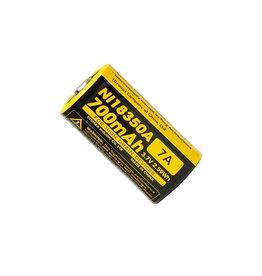 NiteCore 18350 Rechargeable 3.7V Battery 700mAh