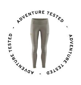 Abisko Trail Tights W Grey S- Adventure Tested