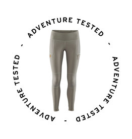 Adventure Tested Abisko Trail Tights W Grey S- Adventure Tested